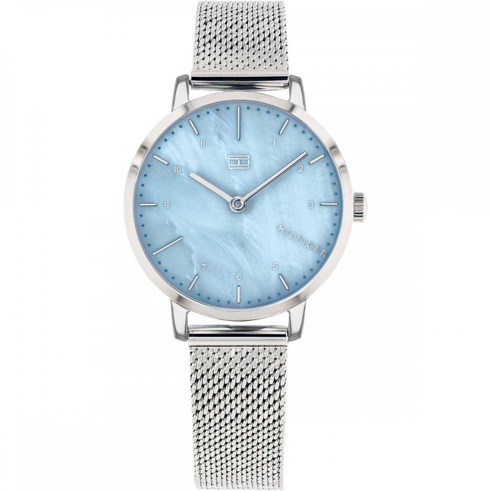 Tommy Hilfiger Ladies Blue Mother of Pearl Lily Watch