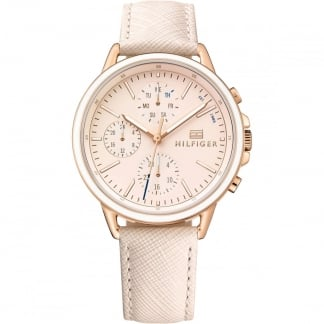 Ladies Carly Rose Gold Multifunction Watch