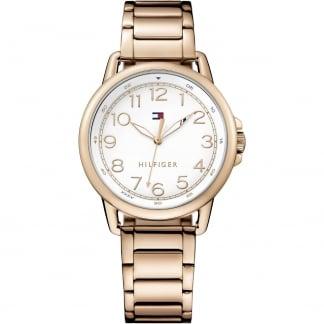 Ladies Casey Rose Gold PVD Bracelet Watch 1781657