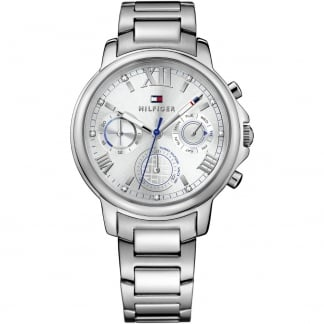 Ladies Claudia Silver Multifunction Watch