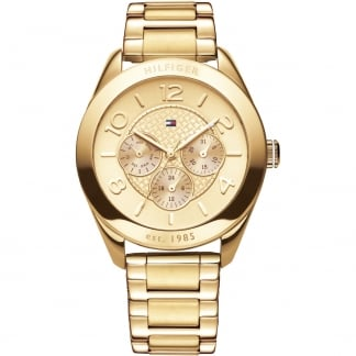 Ladies Gracie Gold Tone Multifunction Watch 1781214