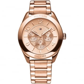 Ladies Gracie Rose Gold Multifunction Watch 1781204