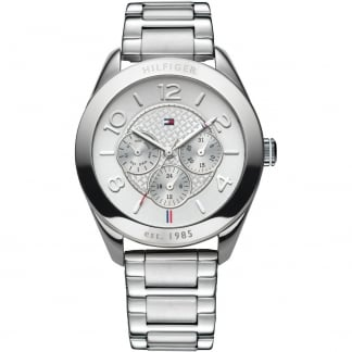 Ladies Gracie Silver Tone Multifunction Watch 1781215
