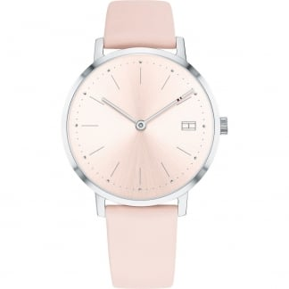 Ladies Pink Leather Pippa Watch
