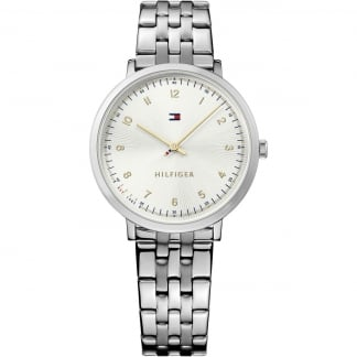 Ladies Pippa Slim Stainless Steel Watch