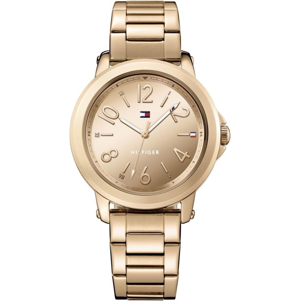 tommy hilfiger ladies rose gold ellie watch watches from. Black Bedroom Furniture Sets. Home Design Ideas