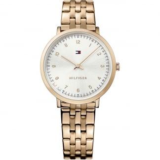Ladies Rose Gold Slim Pippa Watch 1781760