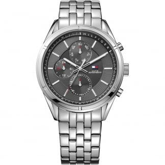 Men's Charlie Grey Dial Steel Bracelet Watch 1791130