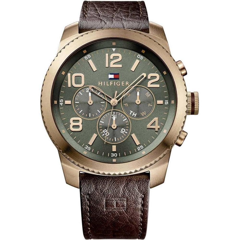 unverwechselbarer Stil Kauf authentisch großer Rabatt Tommy Hilfiger Men's Graham Green Dial Chronograph Watch