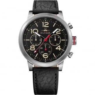 Men's Jake Black Strap Multifunction Watch 1791232