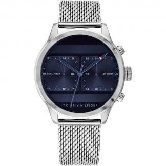 46caa315 Men's Mesh Bracelet Dual Time Icon Watch. Tommy Hilfiger ...