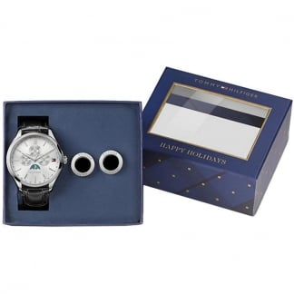 Men's Oliver Moonphase Watch & Cufflink Set 1770014