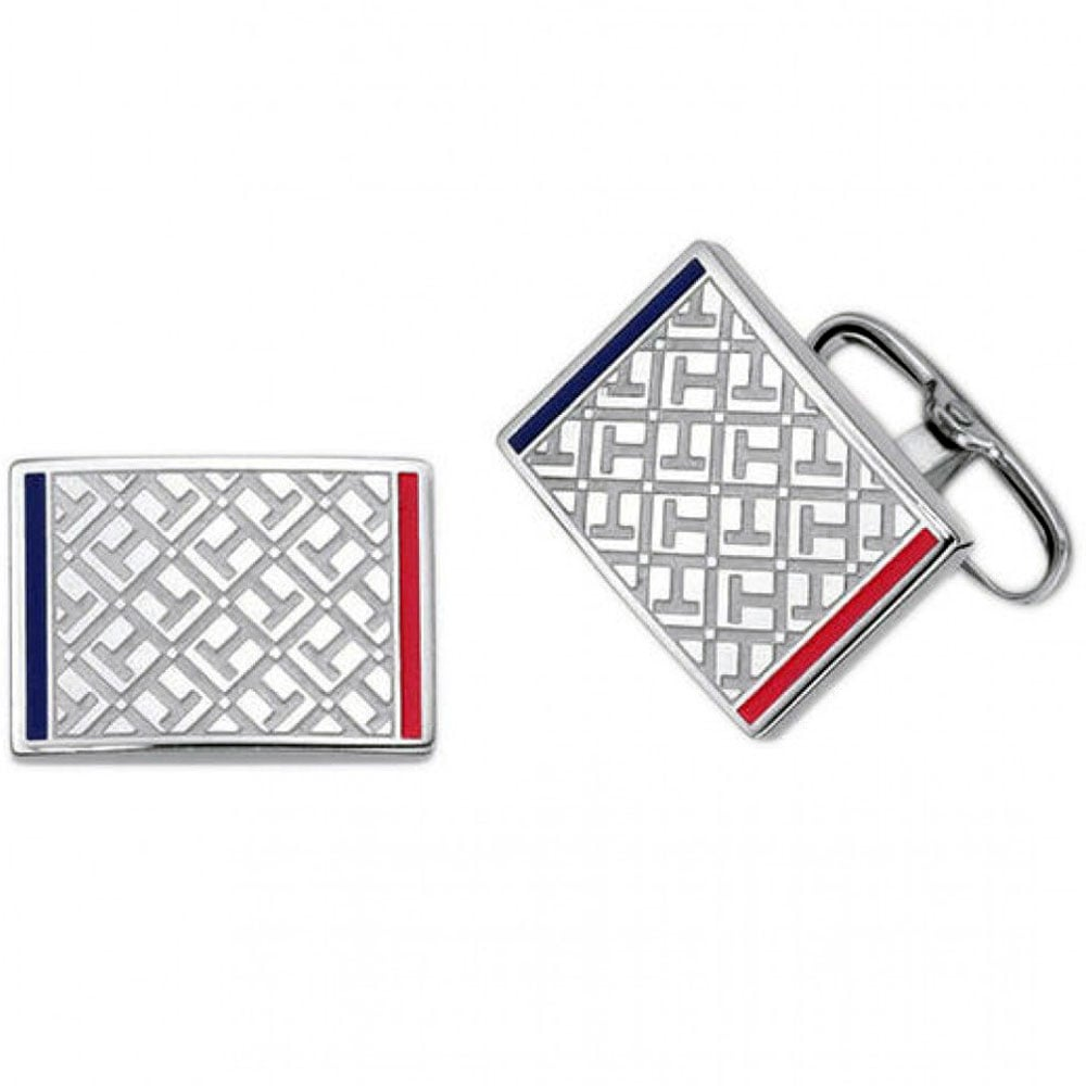 69f6bc5e Tommy Hilfiger Men's Stainless Steel Logo Cufflinks Product Code: 2700696