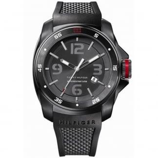 Men's Windsurf Black Rubber Sports Watch 1790708