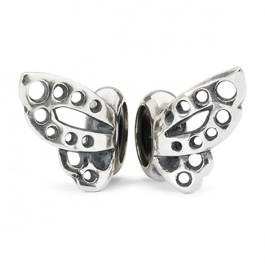 Trollbeads Dancing Butterfly Spacers TAGBE-60010