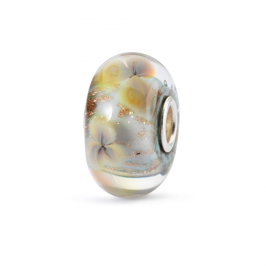 Trollbeads Floral Wishes Glass Bead TGLBE-10330