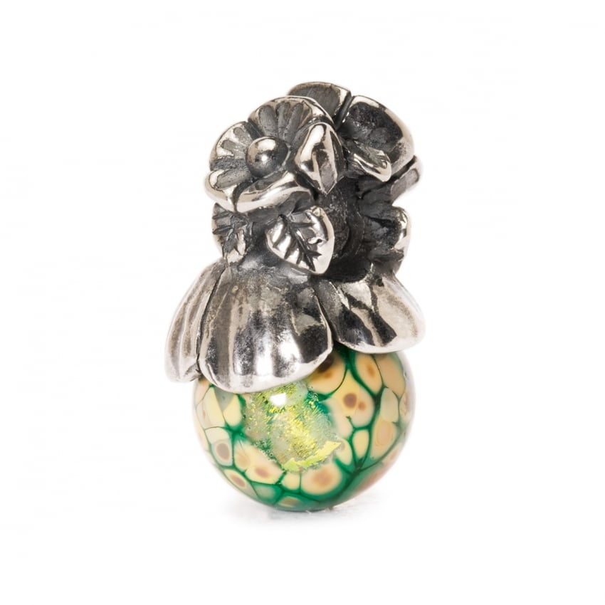 Trollbeads Forget Me Not with Bud TAGBE-00106