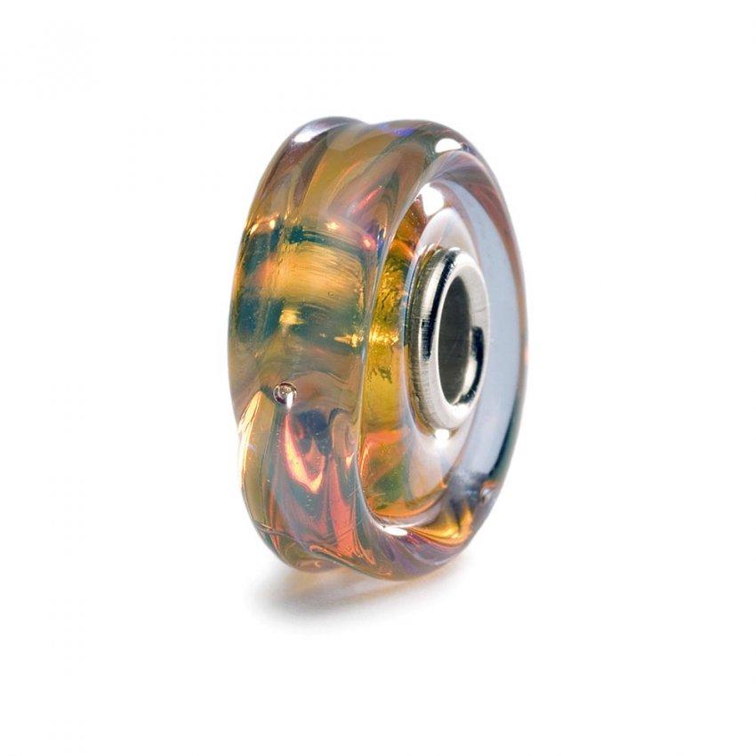 Trollbeads Murano Glass Honey Dawn Bead 61402