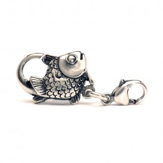 Sterling Silver Big Fish Lock 10102