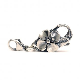 Sterling Silver Big Flower Lock 10101