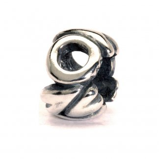 Sterling Silver Initial O Bead