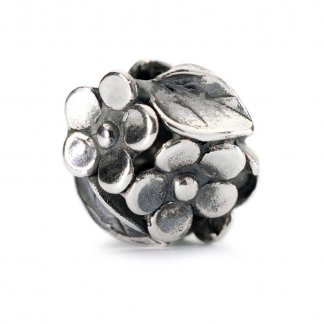 Sterling Silver Mum's Bouquet Bead