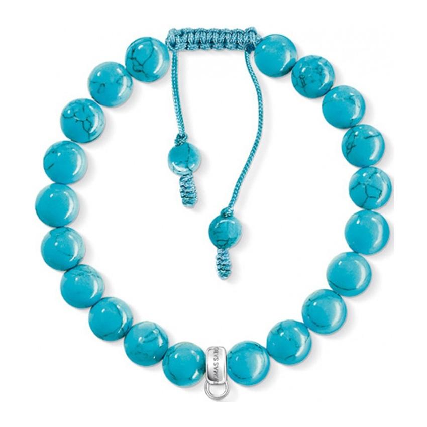 sabo turquoise adjustable charm bracelet