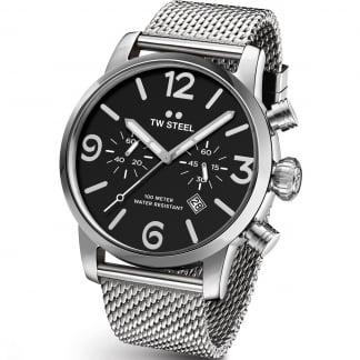 Men's 48MM Maverick Mesh Chronograph Watch MB14