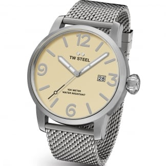 Men's Maverick 45MM Cream Dial Watch