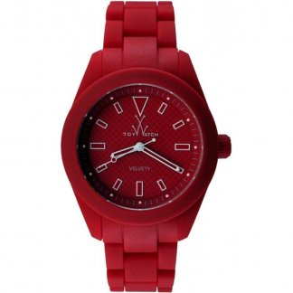 Unisex Red Velvety Bracelet Watch VV08RD