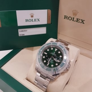 UNUSED Submariner 'Hulk' Oyster Perpetual Date 116610 LV (2017)
