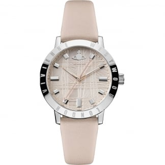 Ladies Bloomsbury II Pink Leather Watch