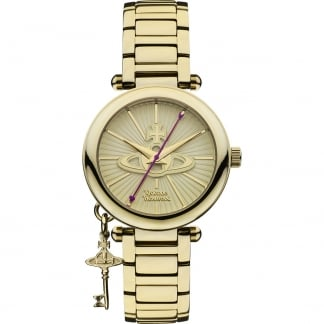 Ladies Kensington Gold Bracelet Watch
