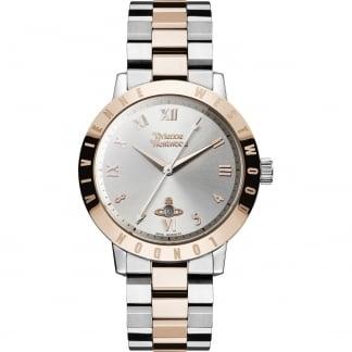 Ladies Swiss Two Tone Bloomsbury Watch VV152RSSL