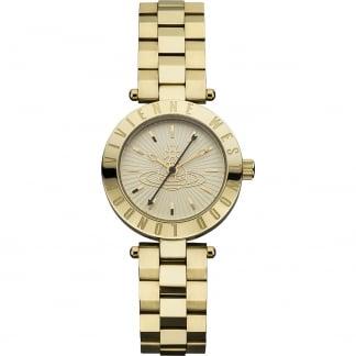 Ladies Westbourne Gold Bracelet Watch VV092GD