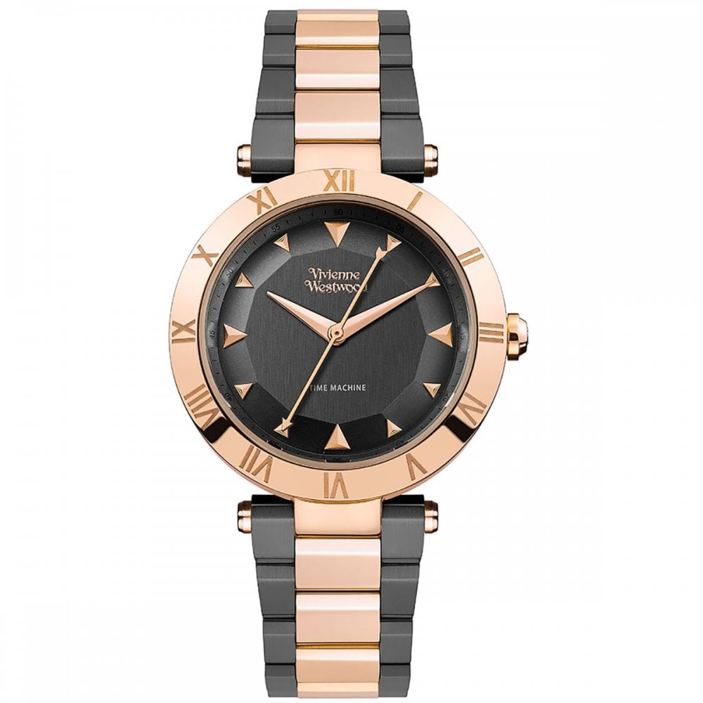 ddf0249931c7 Vivienne Westwood Rose Gold and Grey Ladies Montagu Watch - Watches ...