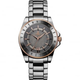 Unisex Sloane Grey Ceramic Bracelet Watch VV048GYSL
