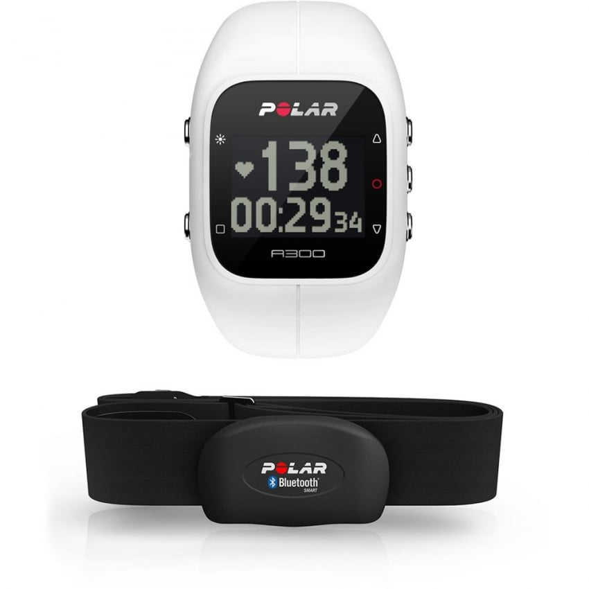 Polar White A300 Bluetooth® Activity Tracker With HRM 90054235