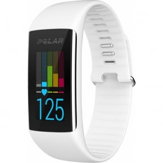 White A360 Fitness Tracker (Wrist-Based Heart Rate)