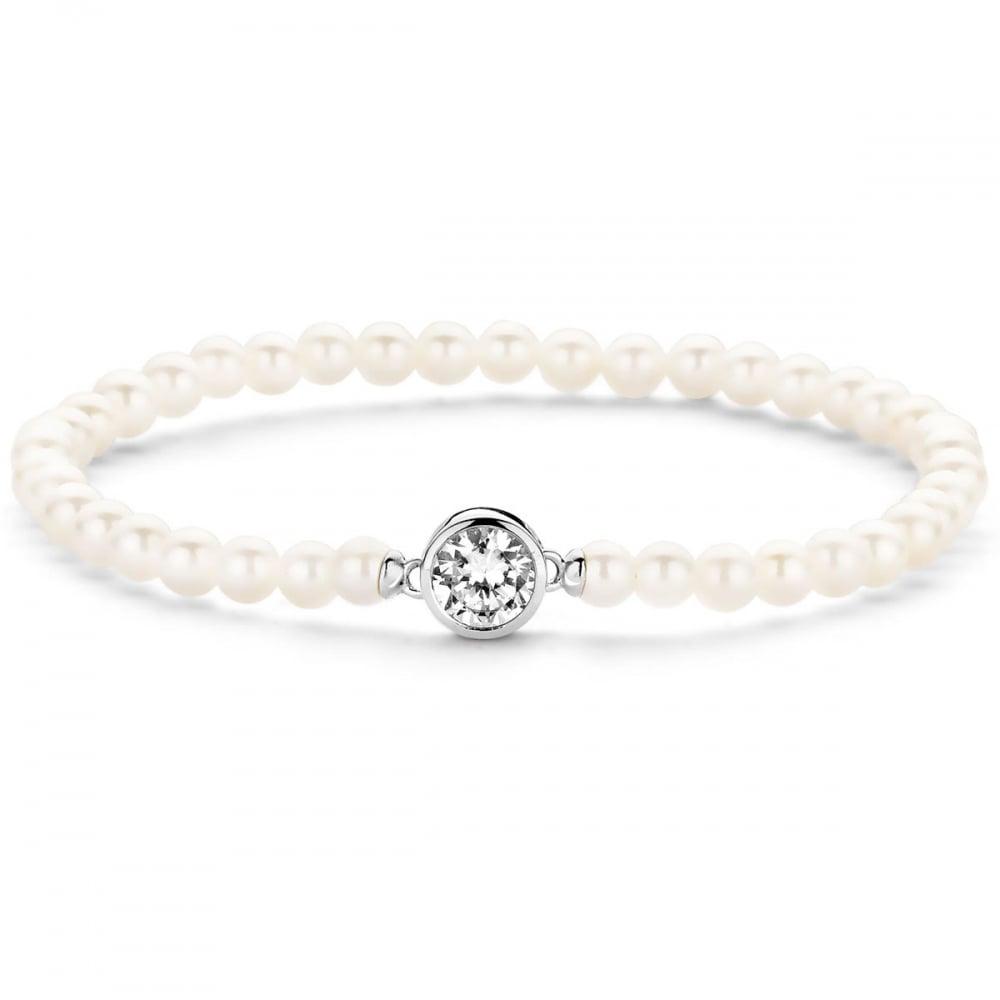 3e1efcf072702 Ti Sento White Pearl Bracelet