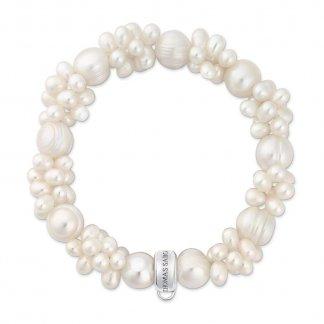 White Pearl Bracelet X0060-082-14