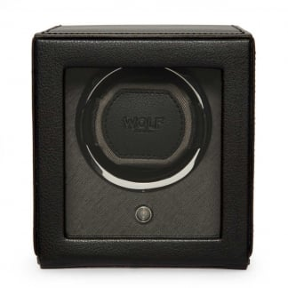 Black Cub Watchwinder With Cover
