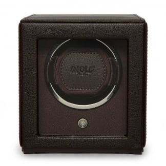 Brown Cub Watchwinder With Cover