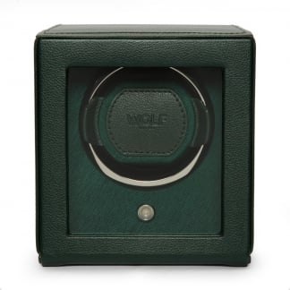 Green Cub Watchwinder With Cover