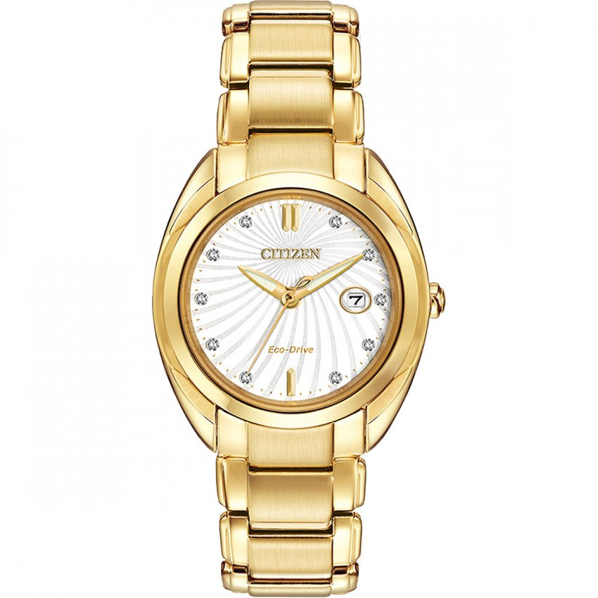 citizen s gold tone celestial eco drive with