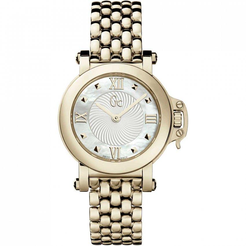 Gc Women's Gold Plated Femme Bijou Watch X52004L1S