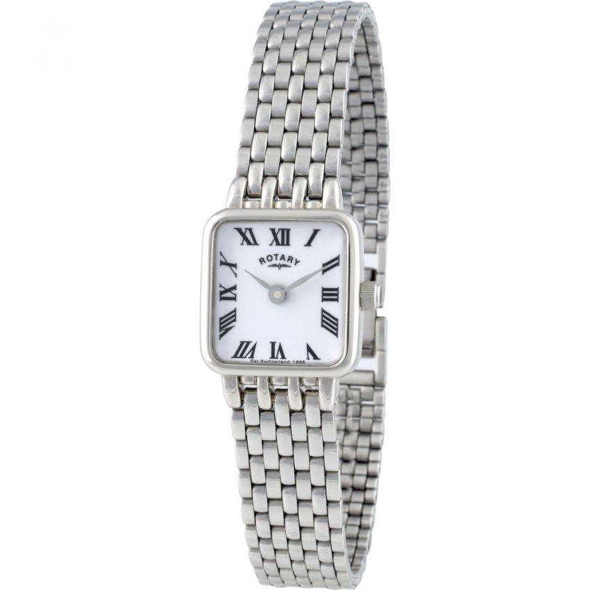 Rotary Women's Quartz Silver Tone Bracelet Watch LB00554/01