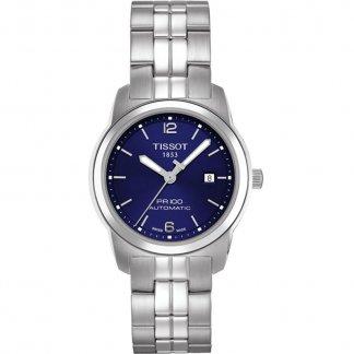 Women's PR 100 Automatic Blue Dial Lady Watch T049.307.11.047.00