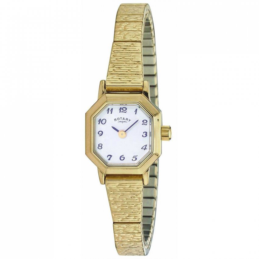 Rotary Women's Traditional Gold Tone Expander Watch LBI00764/29